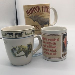 Other - Western theme mugs